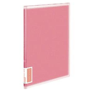 【415円×1セット】KOKUYO(コクヨ)クリヤーブック<コロレー>固定式A4縦20枚ポケット ピンクラ−V20P