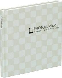 ナカバヤシ スマレコプリントアルバム ブラック台紙 1段サイズ ホワイト ア-SMB-201-W