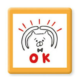 【セット商品】マインドウェイブ  ファンシー文具 スタンプ浸透印ゆるゆる猫田さん/OK 938397 4909001938397 (3セット)