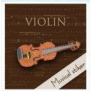 東洋ケース シール ミュージカルエンブレムシリーズ SS-MU-06 ヴァイオリン
