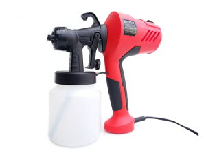 電動 スプレーガン カップガン コンプレッサー 一体型 DIY 塗装 補修 リフォームに! 軽量 かんたん操作 即納