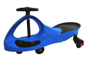 スイングカー 乗用玩具 スィングカー エコカー 乗物 三輪車 のりもの ゴムタイヤ プラスティックタイヤ 2種類ウィール付き おもちゃ 乗り物 青 ブルー 即納