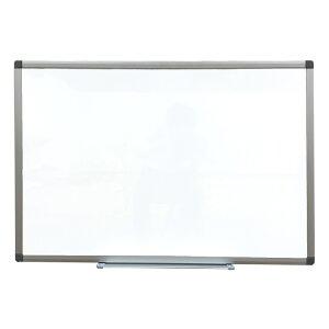 ホワイトボード 壁掛け 無地 W800 H900 マグネット対応 マーカー付 KJWK-0690【#KK】