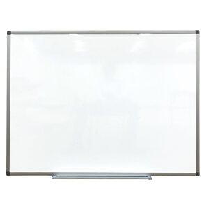 ホワイトボード 壁掛け 無地 W1200 H900 マグネット対応 マーカー付 KJWK-1290【#KK】