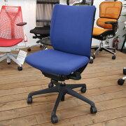 【中古】送料無料VisconteヴィスコンテOKAMURAオカムラ5段階固定リクライニングパソコンチェアPCチェアメッシュチェアデスクチェアワークチェアイス椅子オフィスチェア