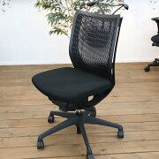 【中古】VisconteヴィスコンテOKAMURAオカムラパソコンチェアPCチェアメッシュチェアデスクチェアワークチェアイス椅子オフィスチェア