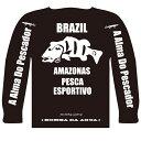 今だけ枚数限定8%OFF! BOMBADA AGUA/ボンバダ・アグア ロングTシャツ 初期に少量販売されたブラックモデル!