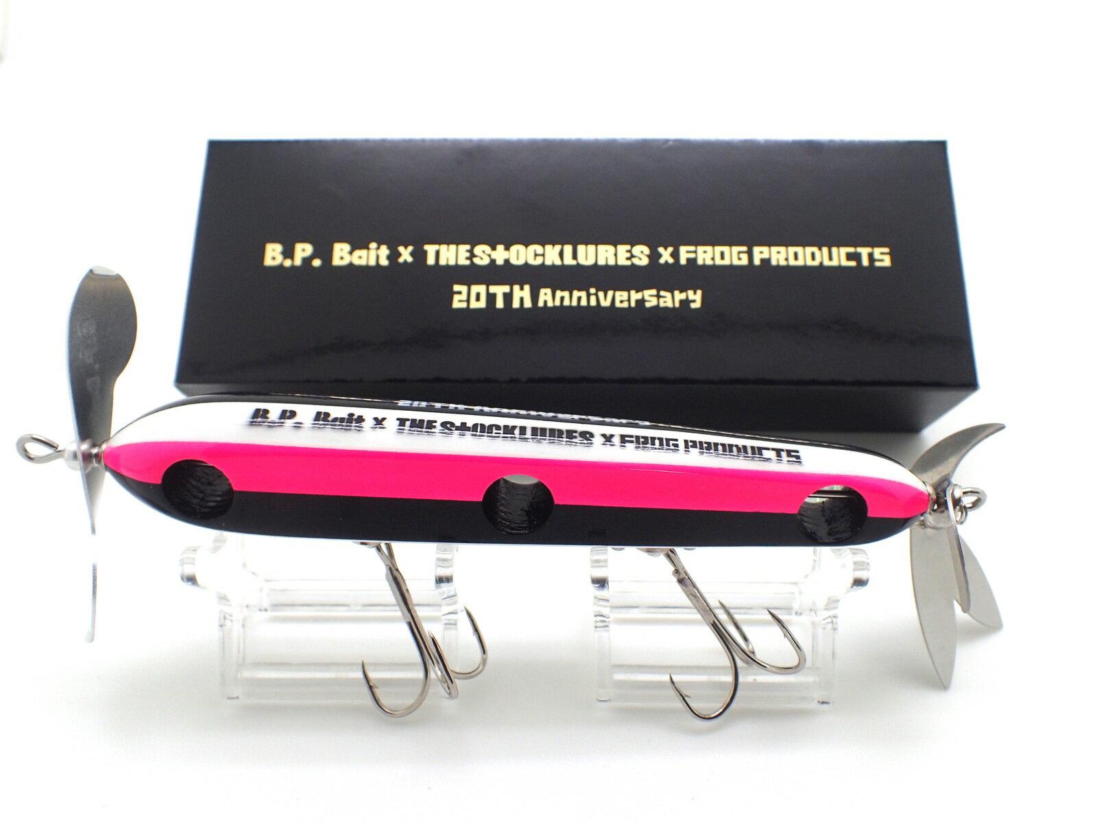 【当店オススメ】【B.P.Bait/ビーピーバイト】 × 【THE STOCKLURES/ザ ストックルアーズ】×【 FROG PRODUCTS /フロッグ プロダクツ】=【アナーキーダブルスイッシャー】