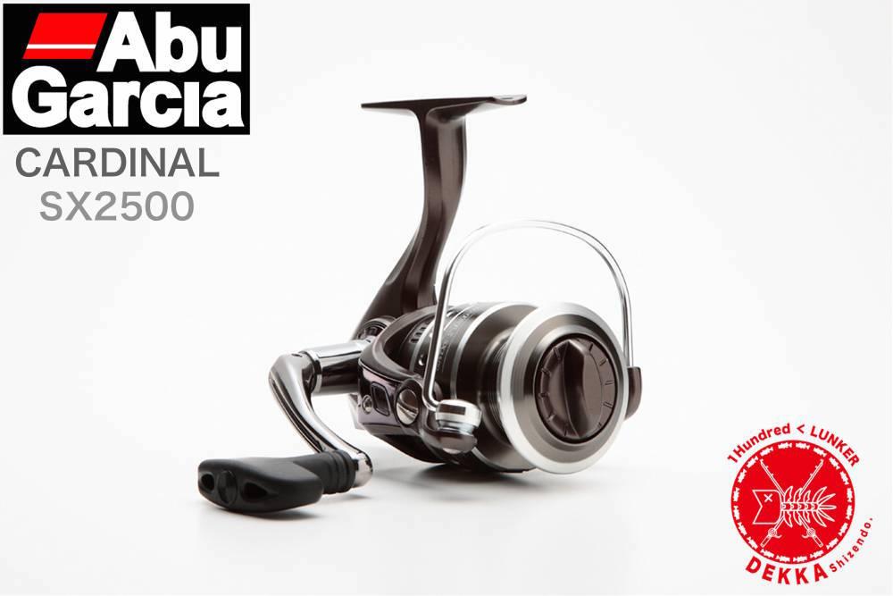40%off!! 【特価品】 Abu Garcia/アブガルシア 【Cardinal SX 2500/カーディナルSX 2500】グラファイト替えスプールも付属。 スピニングリール
