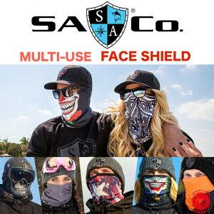 SA COMPANY / SAカンパニー 【 Multi Use Face Shield / マルチユーズ フェイスシールド 】SA Co フリースネックゲイタ? フェイスマスク 飛沫感染・花粉・日焼け対策 フィッシング バイク、自転車、ス