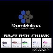Bumblebee / バンブルビー  【 BB.FLASH CHUNK / BBフラッシュチャンク 】ブレード付き ラバージグ (代引き不可 クリックポスト / 同梱発送可)