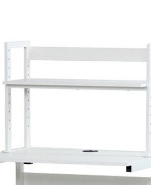 PB-H 薄型パソコンラック用上棚[W598×D233×H500mm][選べる天板色全2色][棚板の高さを6段階で変更可能]【お客様組立】