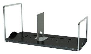 PB-H HFブックスタンド 据え置き型[W470×D220×H220mm][仕切り板1枚付][スチール製]【お客様組立】各種デスク・テーブル用机上ラック