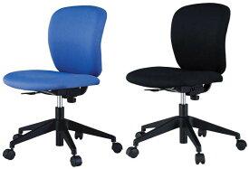 PLUS JOINTEX 事務イス CN-10Cチェア 1脚分 【 肘なし 】 【 選べる背座カラー 全2色 布張り / 背裏は樹脂ブラック色 】 【 お客様組立商品 】 事務用回転椅子 ※有償にて完成品渡し可能 プラスジョインテックスチェア
