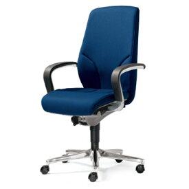 プラス製 ジロフレックス 64チェア(64-9278RCS)[giroflex 64][選べる全4色(布張り)][ハイバック][L型肘付き][アルミ脚][カーペット用キャスター][受注生産][事務用回転椅子]オフィス,SOHO,役員室,会議室,ご自宅,市役所,公共施設,学校,病院向け