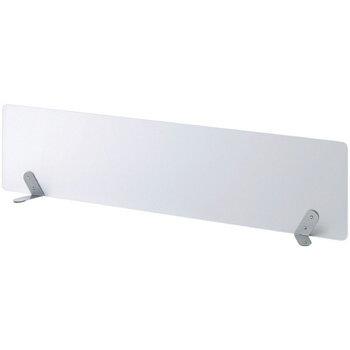 PB-H サイドスクリーン/デスクトップパネル W1200[半透明色]【お客様組立】各種デスク・テーブル向けの間仕切り,パーティション,ブラインド,衝立,スクリーン