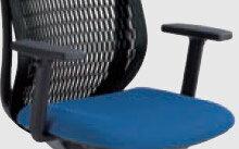 内田洋行 AJチェア用 アジャスタブル肘 UHB型【可動肘 左右両肘セット】【ブラック色】【お客様取付】SOHO・自宅、医療、福祉施設・病院・公共施設・学校・学習塾向け