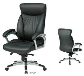 【 法人格限定 】 マネージャーチェア FTX-15_Vチェア 【 革張り+PVCレザー張り 】 【 肘付き 】 【 ブラック色 】 【 法人様お届け商品 】 事務用回転椅子 オフィスチェア TOKIOチェア