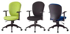 【 法人格限定 】 CF-5CAチェア 2脚セット 【 肘付き 固定肘 】 【 選べる背座の張地カラー 布張り 全3色 】 【 選べるキャスタータイプ 】 【 厚目クッションタイプ 】 事務用回転椅子  TOKIOチェア