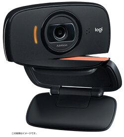 【 09/03AM 在庫有 】 ロジクール製 HD ウェブカメラ ZLC-B525 2台セット 【 ビジネス用 ポータブル Webカメラ 】 最大1080p 30fps HDビデオでコンパクトなWebカメラ折りたたんで持ち運べるポータブルなデザイン360度回転