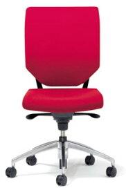 パフォーマ スフォルツァンド チェア 【 クッションタイプ 】 【 肘なし 】 【 選べる張地カラー 全7色 布張り 】 【 選べるキャスター 】 【 ブライト脚 】 事務用椅子 オフィスチェア パソコンチェア OAチェア PCチェア デスク用チェア ビジネスチェア