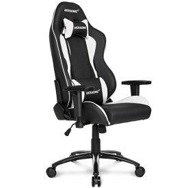 AKRacing Nitro V2 ゲーミング・オフィスチェア エーケーレーシング ニトロ V2[ホワイト色][ハイバック][可動肘付][リクライニング][座面昇降][PUキャスター][組立家具]オフィス,SOHO,テレワーク,eスポーツ向け