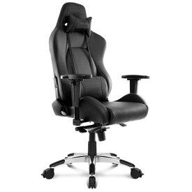 AKRacing Premium オフィスチェア (レイブン) Raven 低座面タイプ[ブラック色][ハイバック][可動肘付][リクライニング][座面昇降][PUキャスター(ストッパー付)][組立家具]オフィス,SOHO,ご自宅,テレワーク,eスポーツ向け(AKR-PREMIUM/LOW-RAVEN)