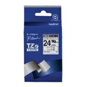 強粘着テープTZe-S251白に黒文字 24mm