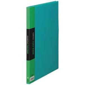 クリアーファイル 20P 132C A4S 緑