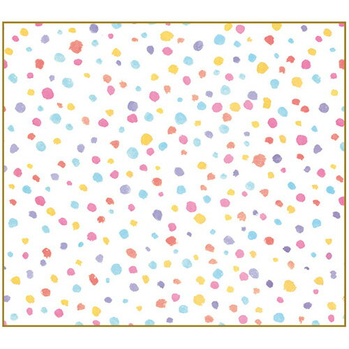 【セキセイ】 フォト色紙 マドなし ドットミックス PS-4004-00 【ノート・紙製品】 【色紙・賞状用紙】