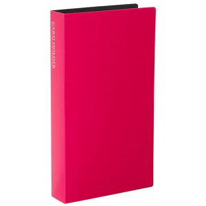 【セキセイ】 カードホルダー<高透明> 名刺サイズ240枚 ピンク KP-240C-21 【ファイル】 【名刺収容ホルダー】【ポイント10倍】