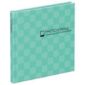 【ナカバヤシ】 スマレコプリントアルバム ブック式 1段 ブルー ア-SMB-201-B 【アルバム】 【フリー台紙アルバム(固定式)】