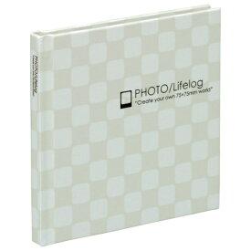 【ナカバヤシ】 スマレコプリントアルバム ブック式 1段 ホワイト ア-SMB-201-W 【アルバム】 【フリー台紙アルバム(固定式)】