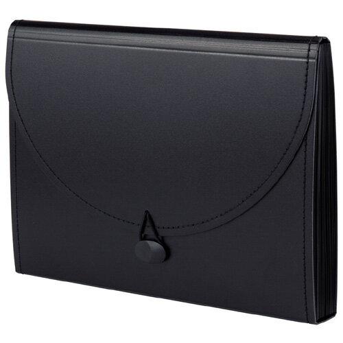 【セキセイ】 ドキュメントバッグワプ A4 ブラック FB-2313-60 【ケースバッグ】 【ケース】