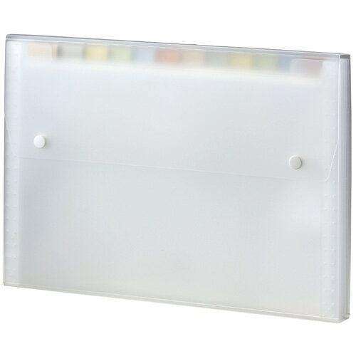 【セキセイ】 セマック ドキュメントファイル A4 ホワイト MA-2111-70 【ケースバッグ】 【ケース】