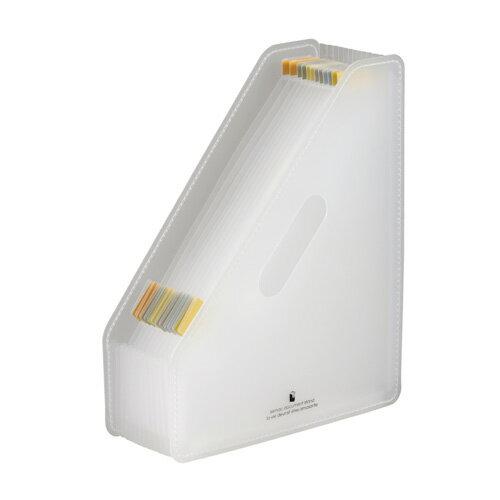 【セキセイ】 セマック ドキュメントスタンド A4タテ ホワイト MA-3200-70 【ボックスファイル】 【デスクトップ収納品】