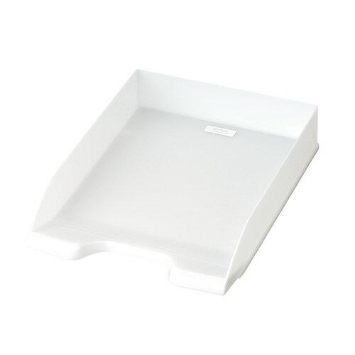【セキセイ】 セマック デスクトレー A4 オフホワイト MA-3509-71 【ボックスファイル】 【デスクトップ収納品】