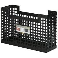 【セキセイ】シスボックス<B6・カード立>A4黒SBX-88-60【ボックスファイル】【ボックス型ファイル】