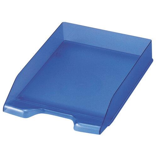 【セキセイ】 デスクトレー A4 タテ ブルー SSS-1246-10 【ボックスファイル】 【デスクトップ収納品】