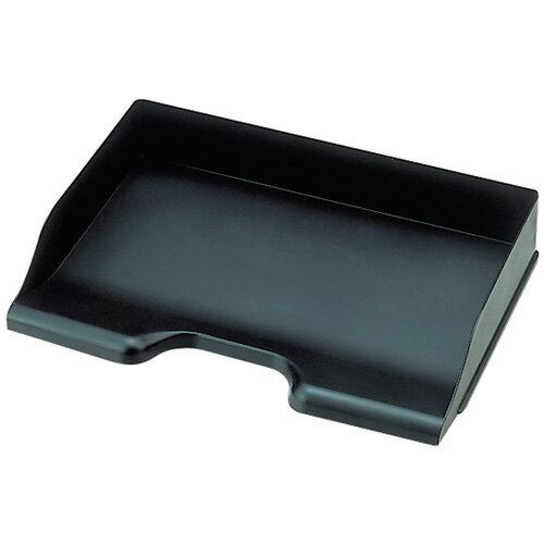【セキセイ】 デスクトレー A4 ヨコ ブラック SSS-1340-60 【ボックスファイル】 【デスクトップ収納品】