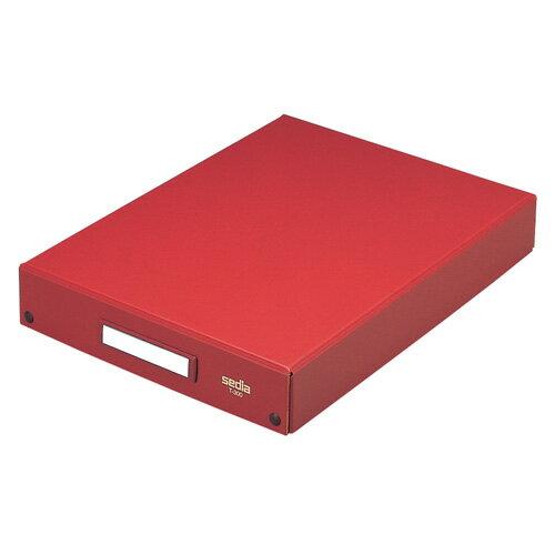 【セキセイ】 デスクトレー B4 茶 T-300-01 【ボックスファイル】 【収納・保存箱】