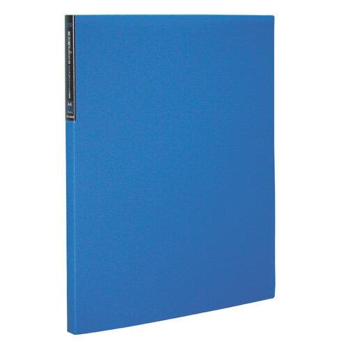 【セキセイ】 エクシヴ クリヤーホルダー A4-S 20ポケット ブルー XIV-2502-10 【ファイル】 【ホルダー】