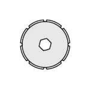 【J-547374】【オルファ】ミシン目ロータリーカッター替刃 XB173【カッターナイフ】