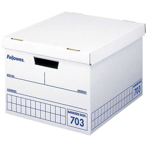 【J-384438】【フェローズジャパン】フェローズ703ボックスA4 青 3個パック【ボックスファイル】