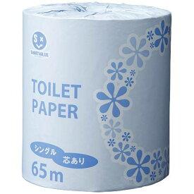 【個別送料】【J-365341】【ジョインテックス】業務用トイレットペーパーS65m*100個 N103J【衛生紙】