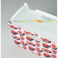 【セキセイ】フィンダッシュドキュメントスタンド<チューリップ赤>FINN-7081-00【ファイル】【ボックスファイル】