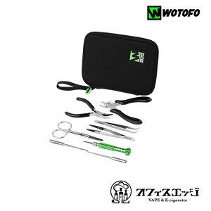 wotofo【Vape Tool Kit】ビルドツール ベイプ vape 電子タバコ ツールキット ビルドツール リビルダブル セット ツールセット ウォトフォ [Z-5]