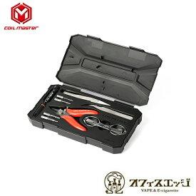 CoilMaster DIY Kit Mini V2/コイルマスター/ビルドツール キット リビルダブル セット リビルド ベイプ 電子タバコ vape ニッパー コットンバサミ セラミックピンセット コイルジグ 工具 Coil Master [W-75]