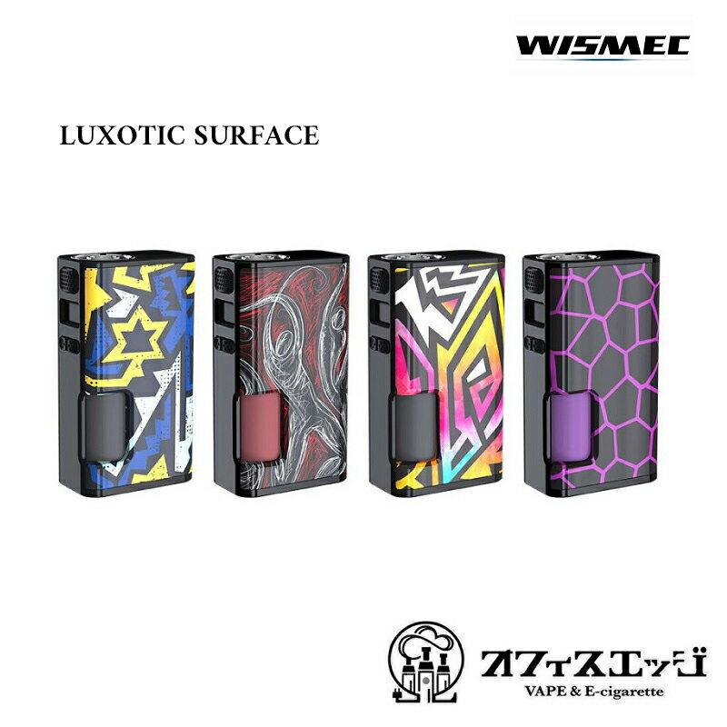 新着商品 ベイプ WISMEC【LUXOTIC SURFACE 80W】テクニカルスコンカーモット ウィズメック ルクソティック サーフェイス [Z-19]