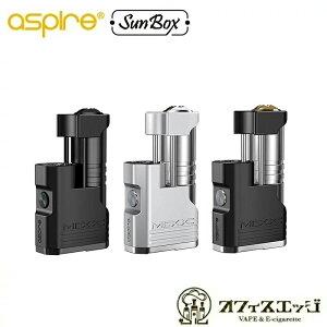 Aspire×SUNBOX Mixx Mod 60W 18650/18350 / ミックス / アスパイア / アスパイヤ / サンボックス / ステルス テクニカルBOXMOD mod 本体 ベイプ 電子タバコ vape 18350 ステルスMOD aspire sunbox mixx [X-3]